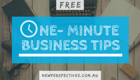 One Minute Business Tips