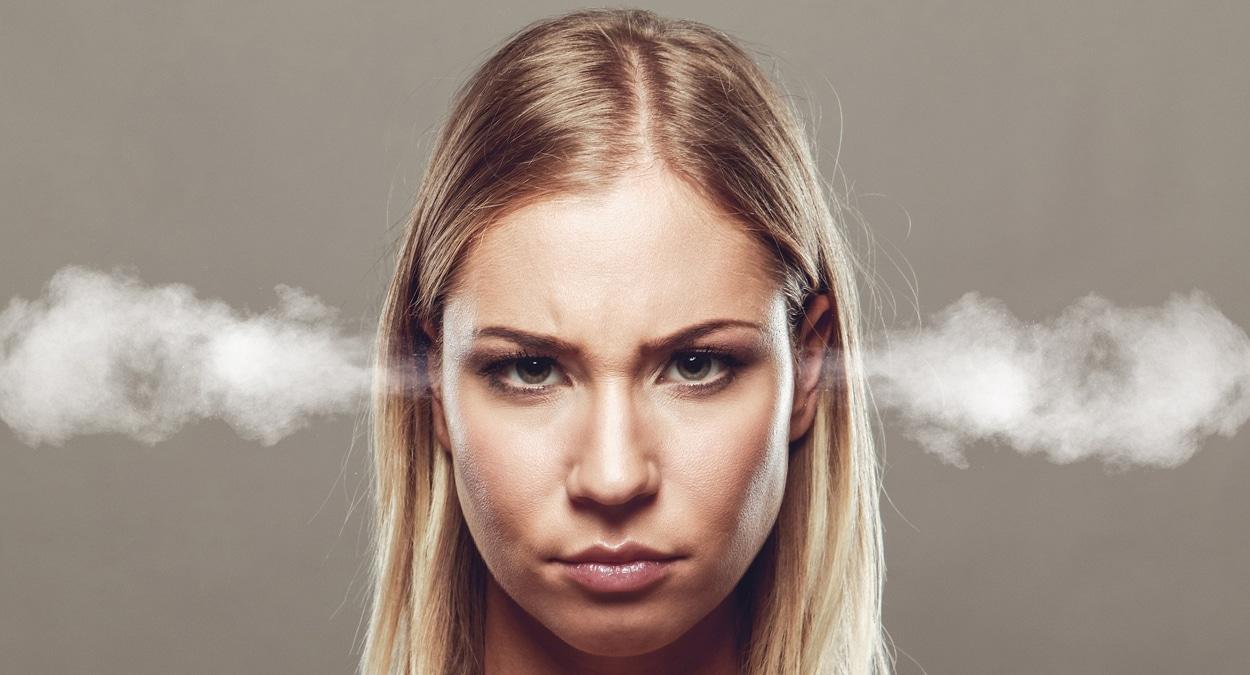 angry woman