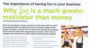 fun in business ara jan 2014