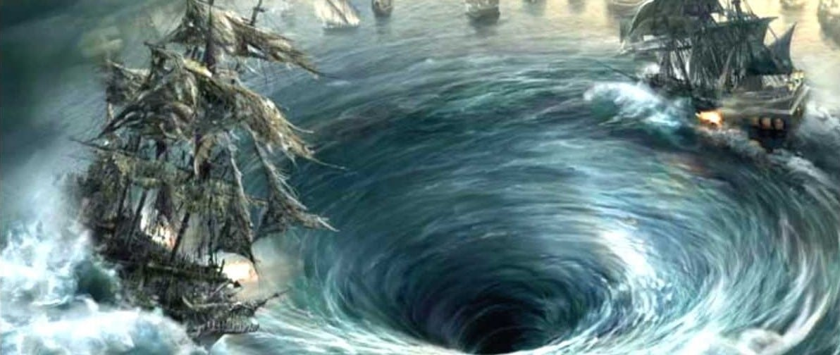 stuck in a whirlpool maelstrom