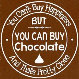 chocolate happiness