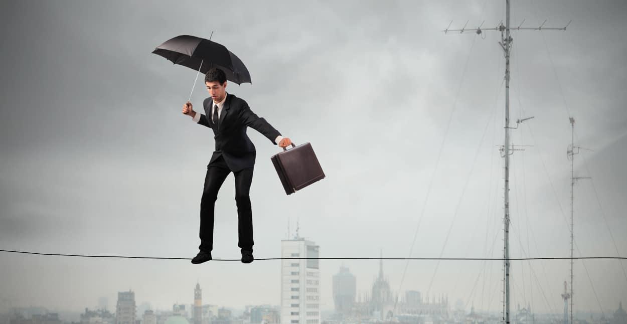 business mane rope balancing employment