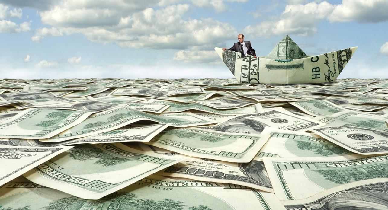 sea of money
